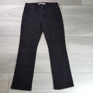 Harley Davidson Black Bootcut Jeans Size 14 Long